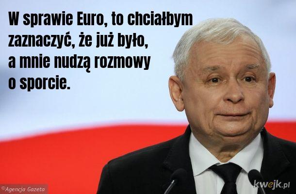 Jarek nie wprowadzi euro