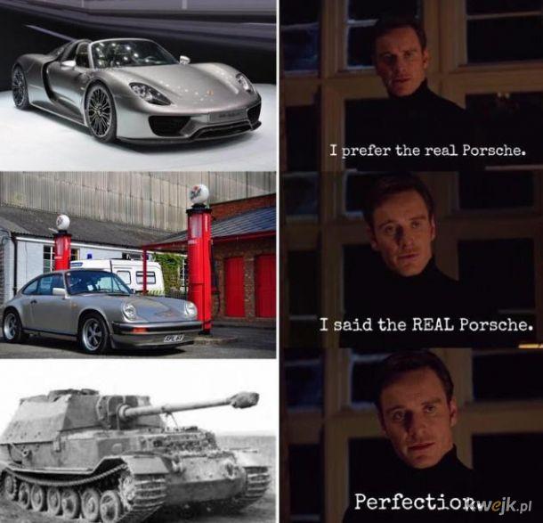 Prawdziwe Porsche