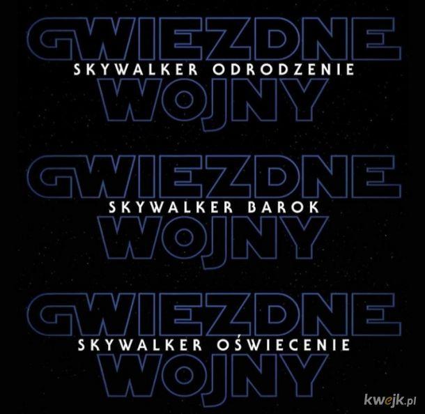 Znamy tytuły kolejnych części Gwiezdnych Wojen