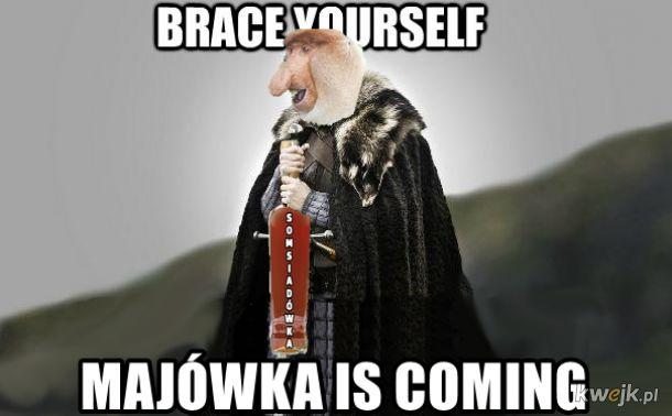 Majówka is coming