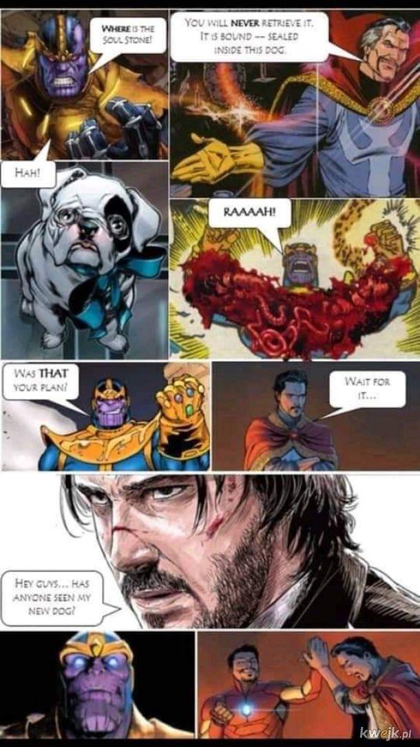Thanos vs Wick