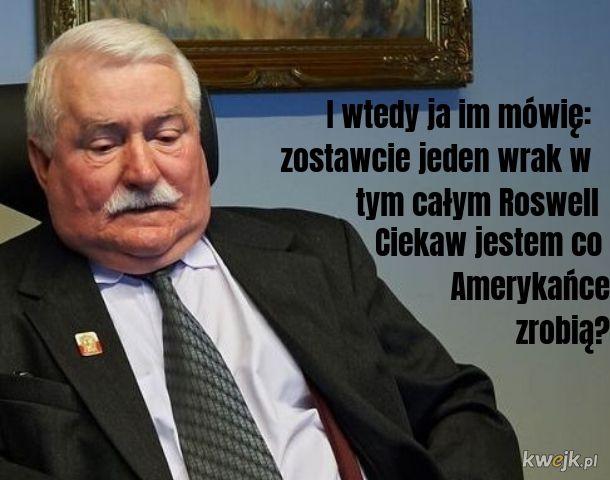 Dobra rada Wałęsy