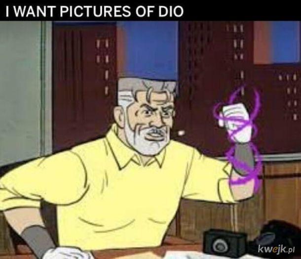 Chcę jego zdjęcia panie Speedwagon.