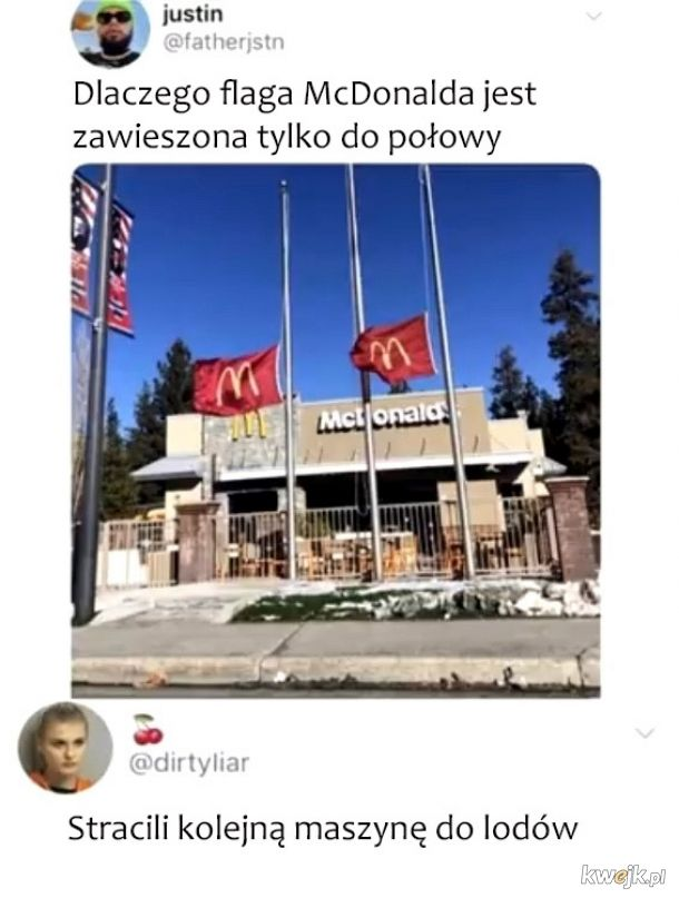 Flaga McDonald's
