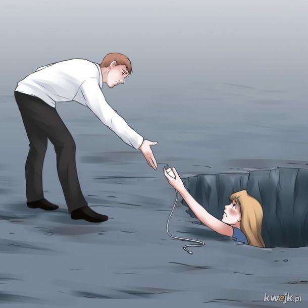 Ilustracje, które pokazują, że z naszym światem coś jest nie tak, obrazek 6