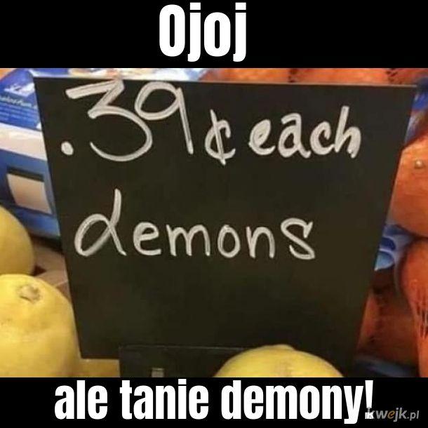 Najtańsze demony na ryneczku Lidla!