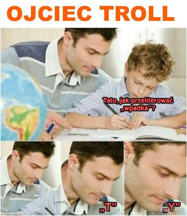 Ojciec troll