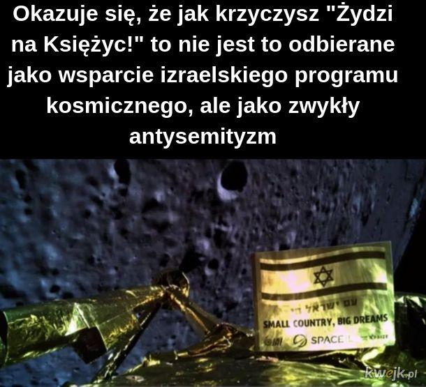 Żydzi na Księżyc