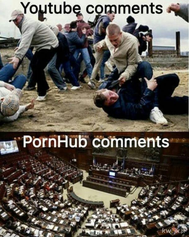 Sekcja komentarzy