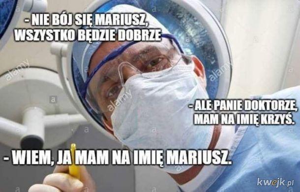 Nie bój się, Mariusz