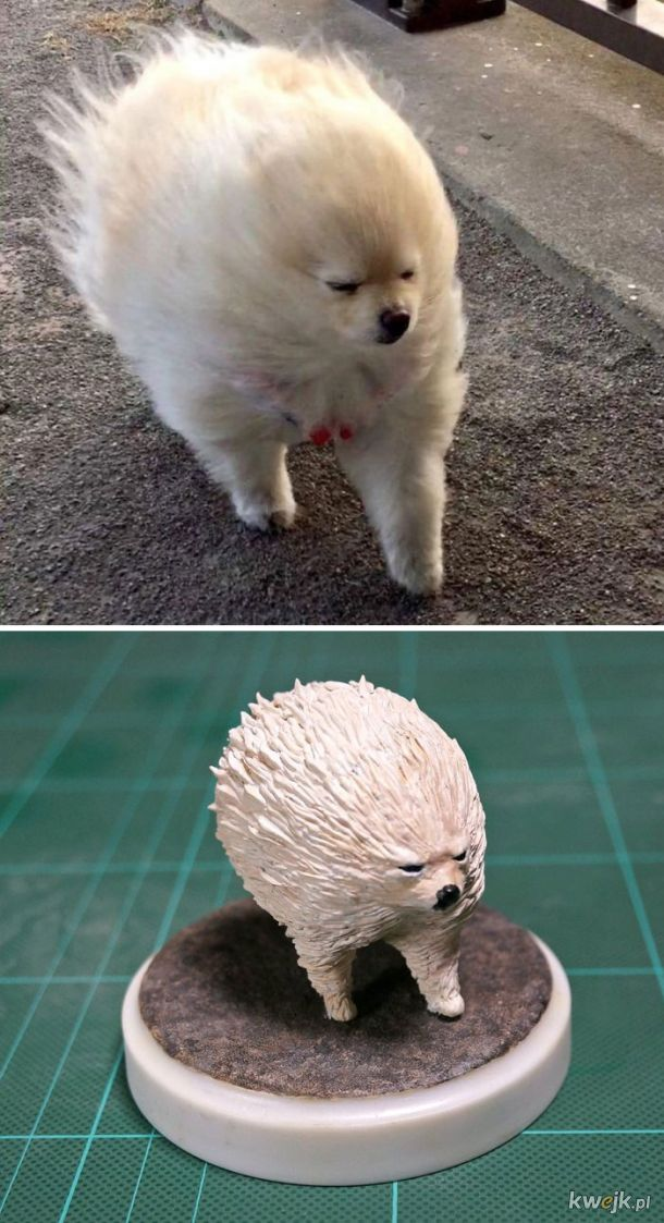 Meetissai - japoński artysta, który zamienia memowe zwierzaki w rzeźby, obrazek 15