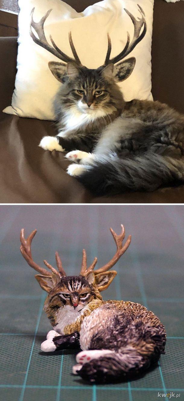 Meetissai - japoński artysta, który zamienia memowe zwierzaki w rzeźby, obrazek 14