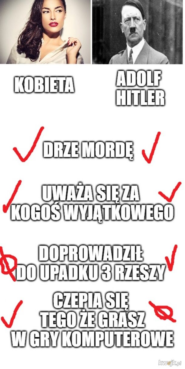 Kobieta VS Adolf hitler