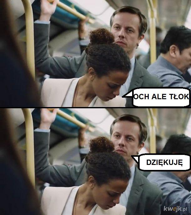 Incel w tramwaju