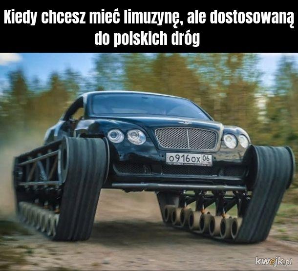 Limuzyna na polskie drogi
