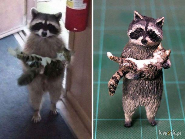 Meetissai - japoński artysta, który zamienia memowe zwierzaki w rzeźby