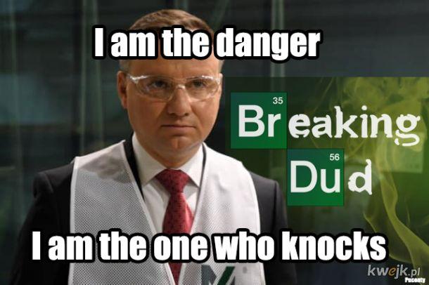 Duduś is the danger