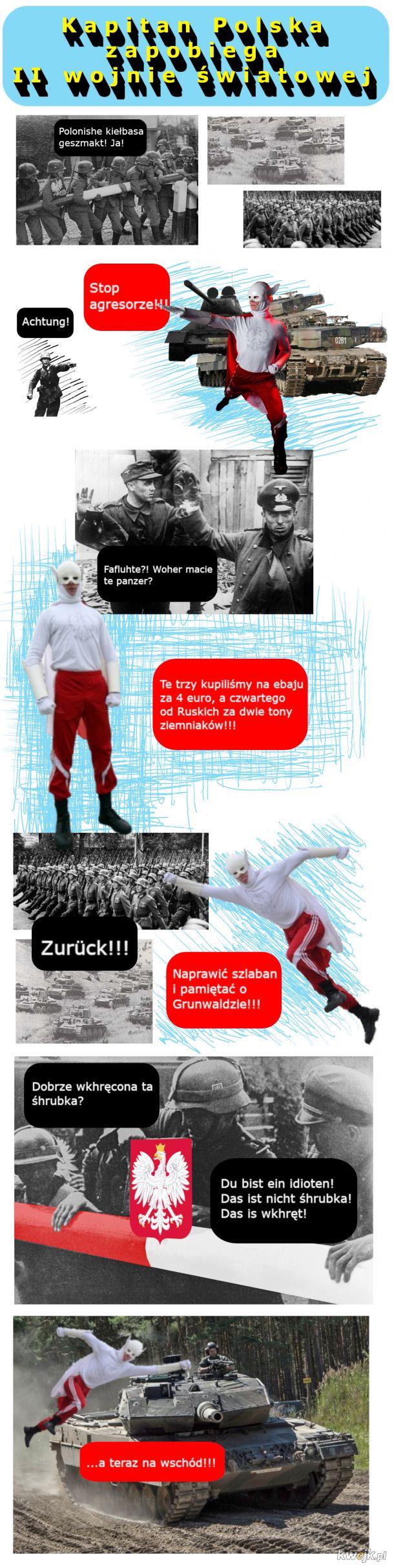 Kapitan Polska zapobiega II wojnie światowej