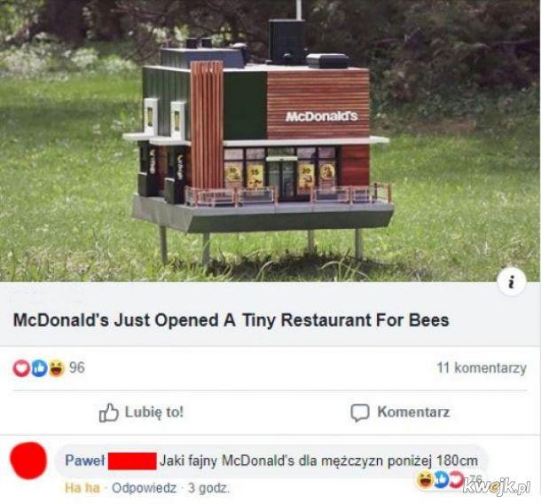 Fajny McDonald!