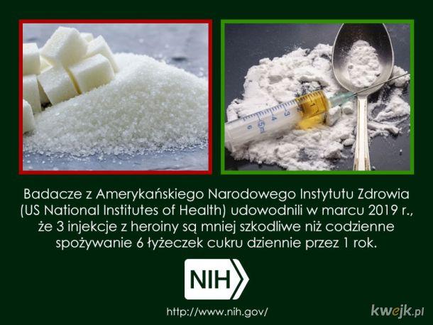 Heroina vs. cukier