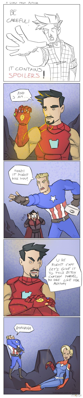 Avengers Endgame comic