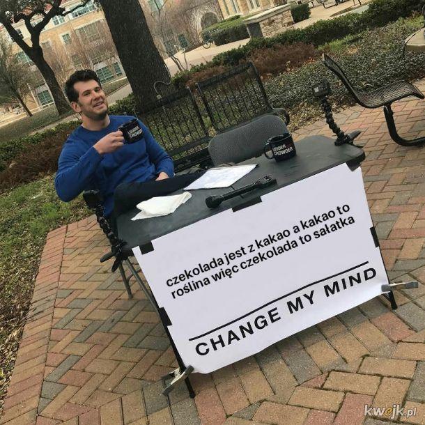 Czekolada=Sałatka