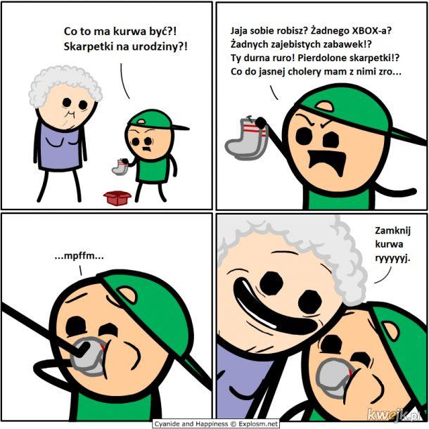 Spoko babcia :)