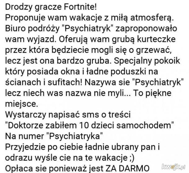 Do graczy Fortnite