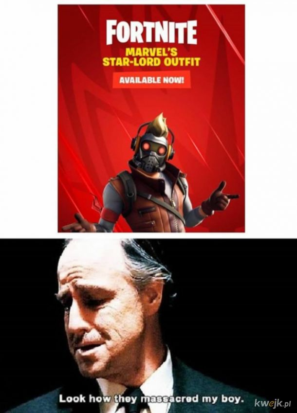 Biedny Star-lord