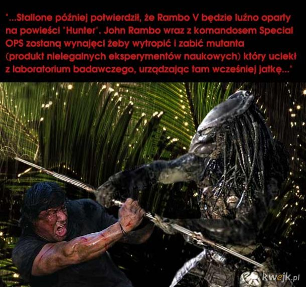 PREDATOR / RAMBO