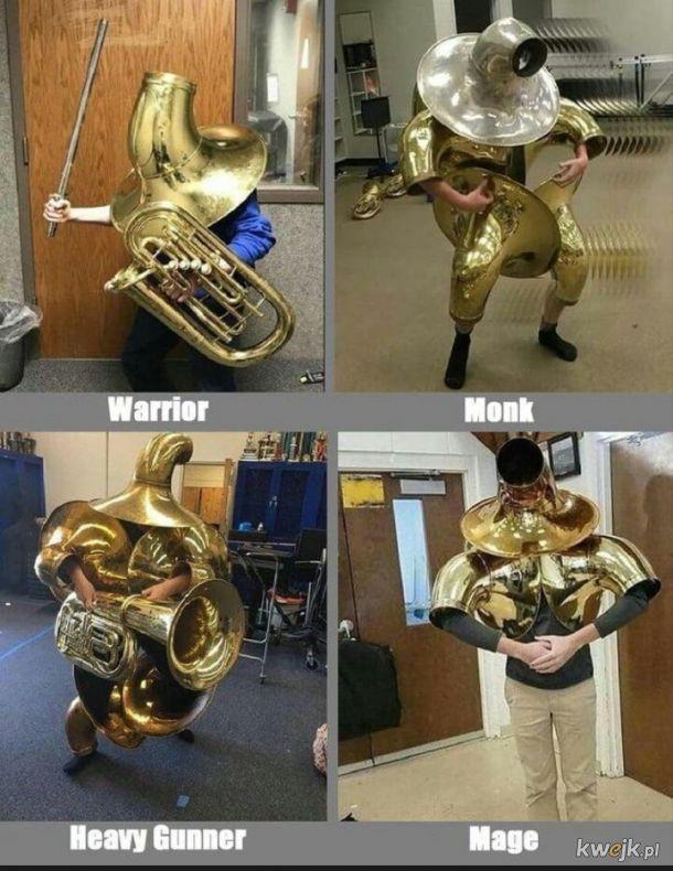 wybierz swojego wojownika