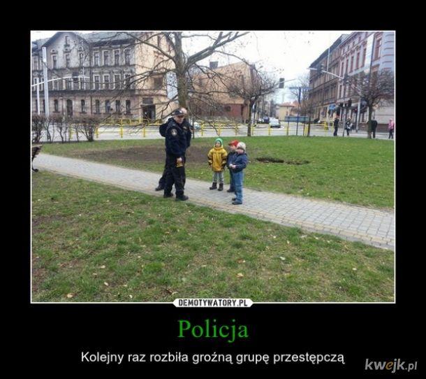 Policjanci i policjantki