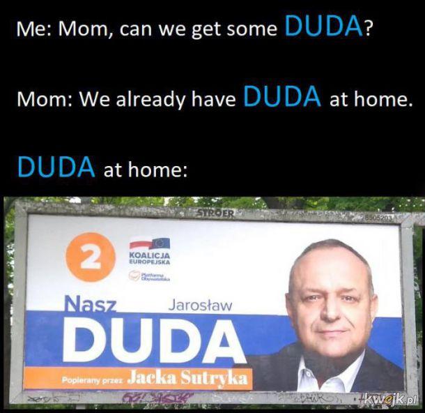 Duda w domu