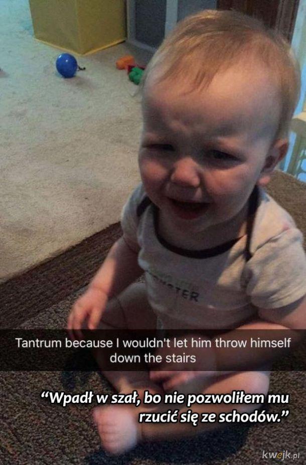 Dziwne powody, dla których dzieci płaczą