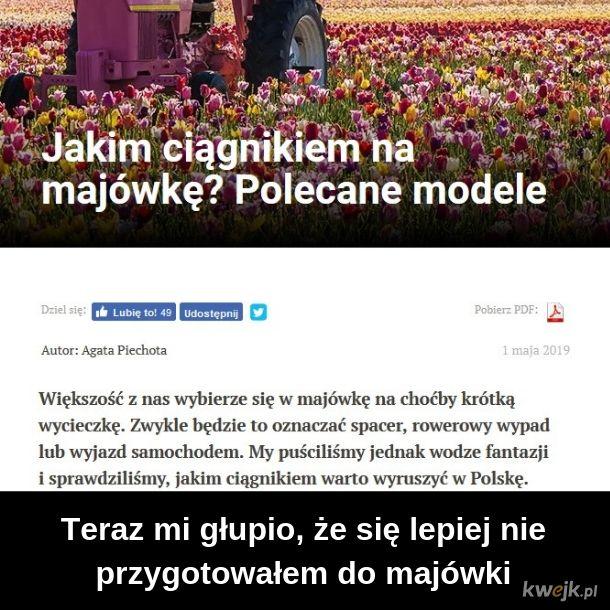 W Polskę ciapkiem