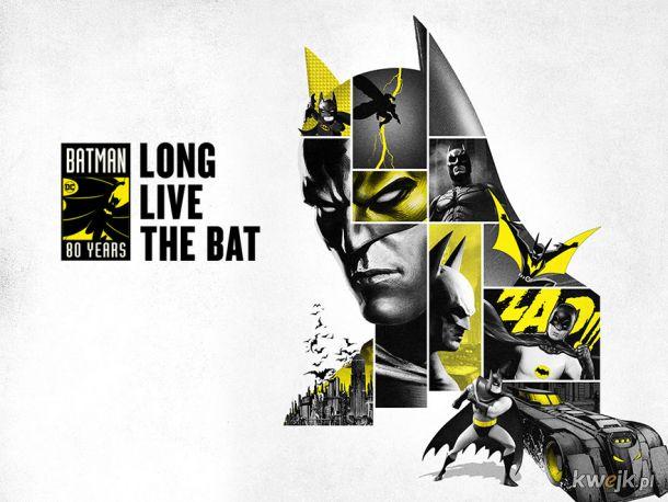 W tym roku Batman kończy 80 lat