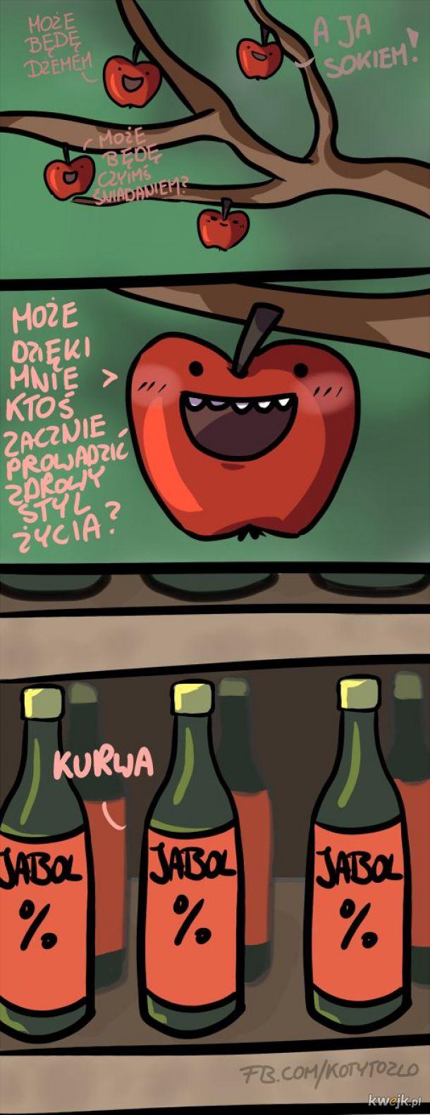 Krótka opowieść o jabłkach