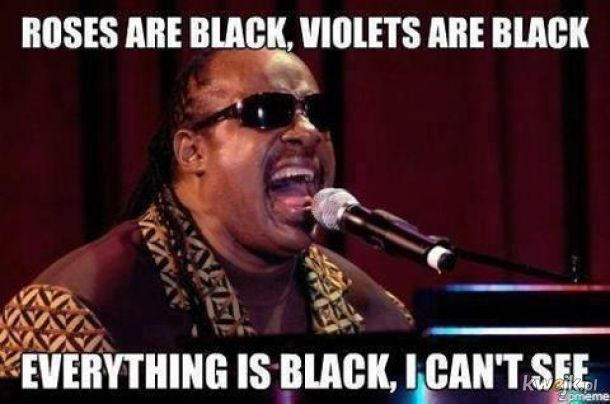 wszystko czarne