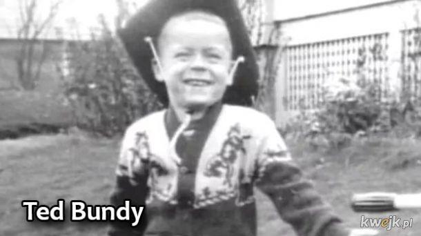 Zdjęcia seryjnych zabójców kiedy byli dziećmi