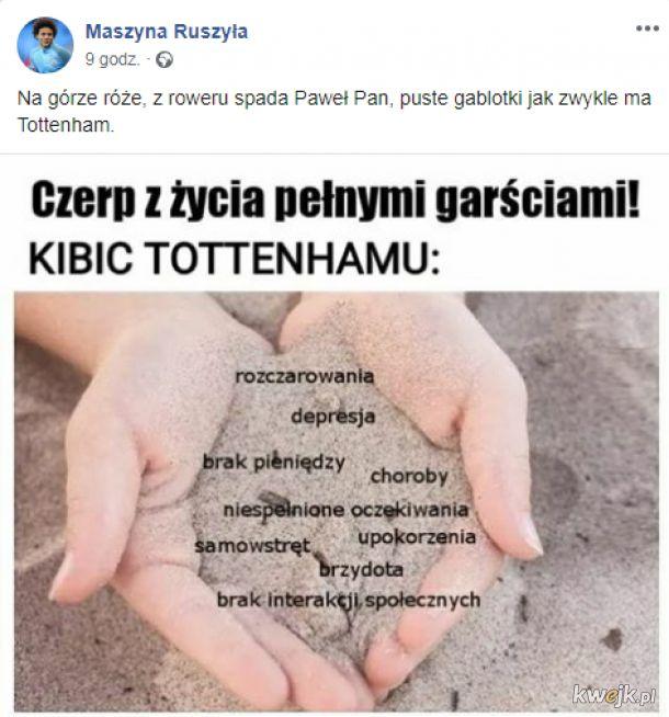 Typowy kibic Tottenhamu