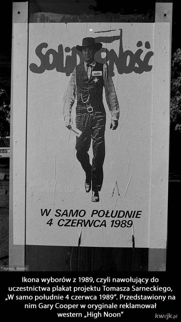 Pierwsze częściowo wolne wybory w Polsce (i to, co po nich) na fotografiach