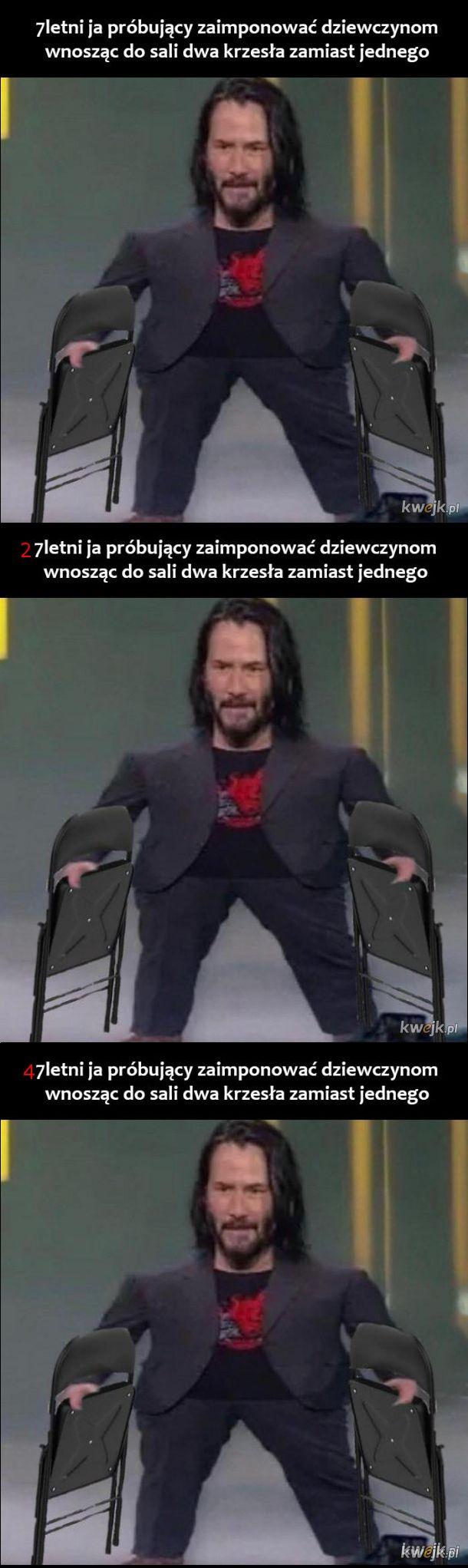 7, 27 i 47 ja i krzesła