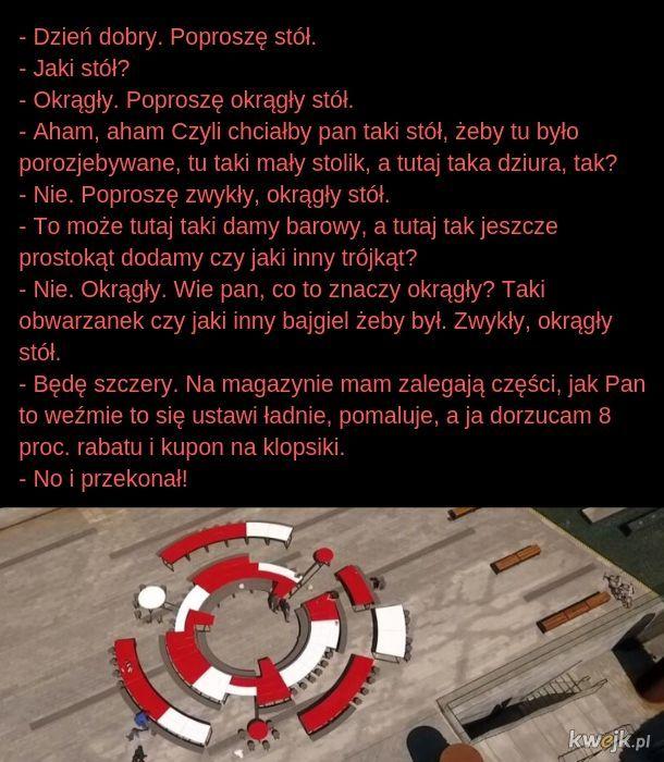 Historia okrągłego stołu