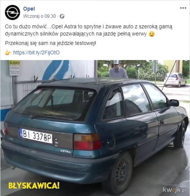 Opel wie co dobre