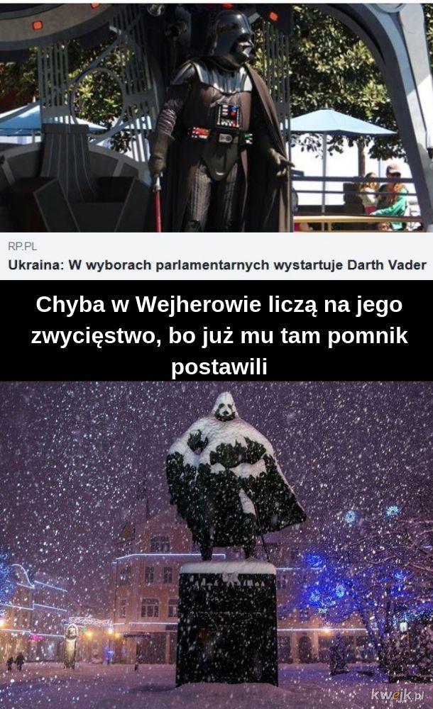 Pomnik Vadera... tzn. Wejhera... tzn. ukraińskiego polityka