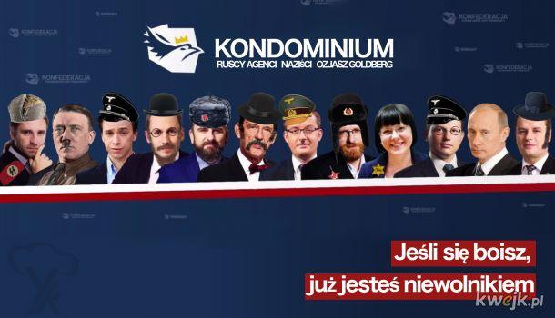 Kondominium rosyjsko-niemieckie pod żydowskim zarządem powierniczym
