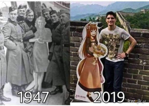 Czas zmienia wszystko.