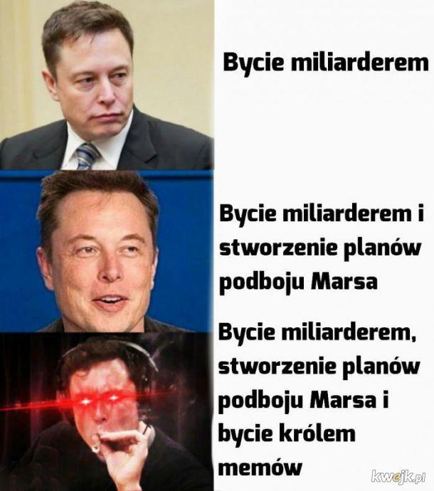 Elon Musk kończy 48 lat, a to najlepsze memy