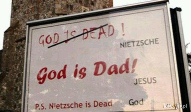 Spór między Nietzche'm a Bogiem rozstrzygnięty...