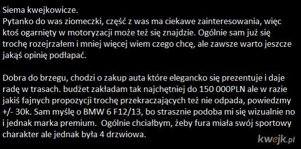 Pomoc z zakupem autka :)